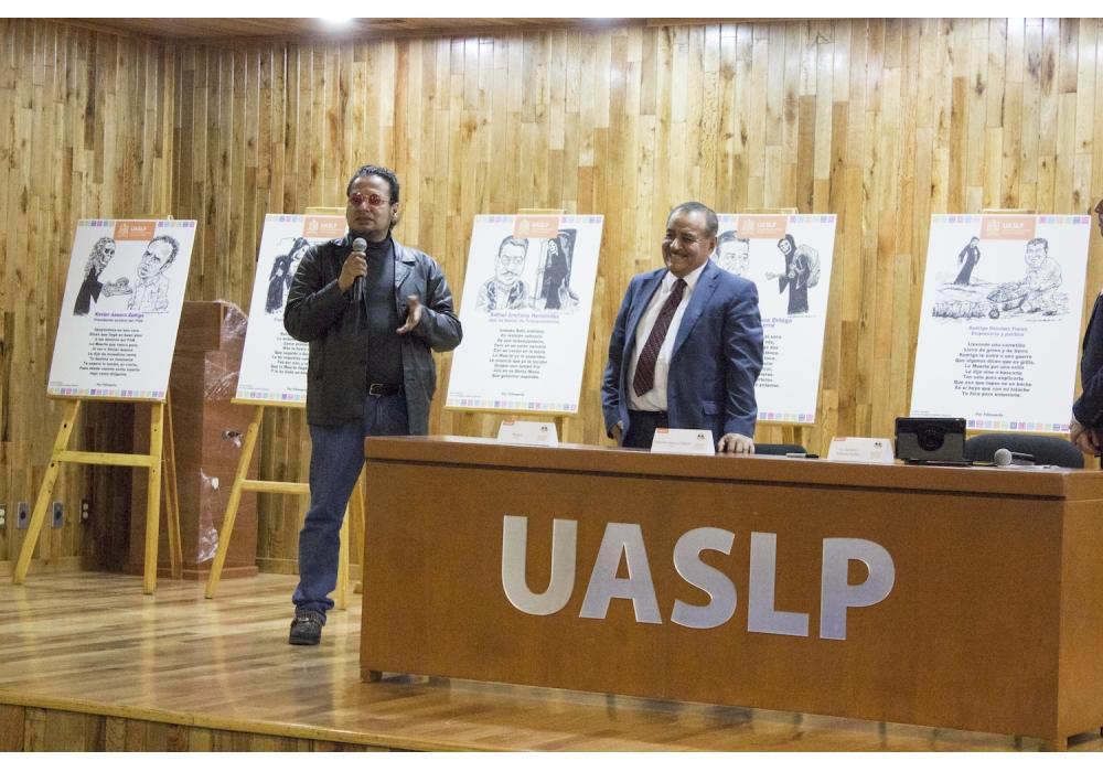 """Prof. Alejo asiste a presentación del libro """"Las Calaveras Literarias"""""""