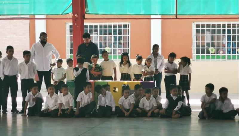 Inauguración de la biblioteca Profr. Xicoténcatl de la Cruz García.